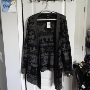 Nightmare Before Christmas Hot Topic Cardigan